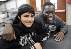 奧羅拉中學的學生