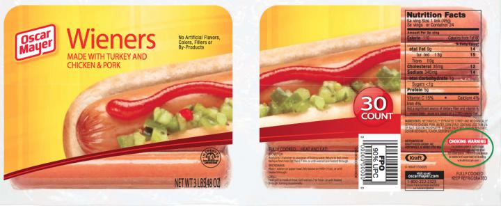 Oscar Mayer Label