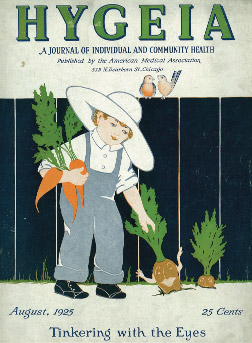 Couverture du magazine Hygeia (1925)