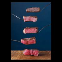 أجزاء كبيرة من اللحم